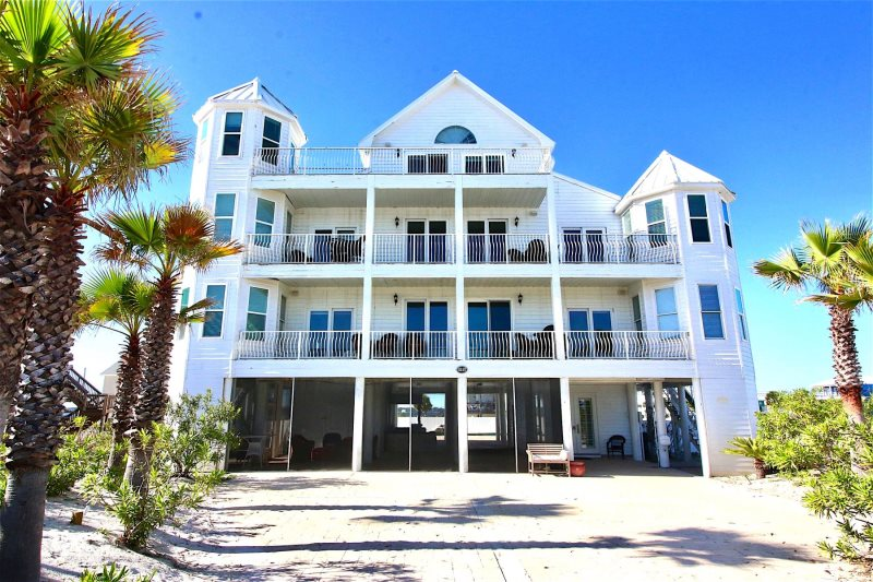 Huge Beach House Gulf Views From Every Balcony With Private Pool Sleeps 22