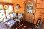 Cute Front Porch for Relaxing or Morning Coffee