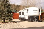 RV Site 252 Located on Club Row Near the Clubhouse and Amenities