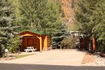 Big RV Site 286 has Lots of Space, Picnic Area, and Full Hookups