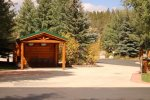 Drive Through Deluxe RV Site with Picnic Shelter and Full Hookups