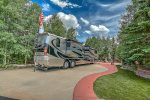 Gorgeous RV Site with Full Hookups and Beautiful Landscaping
