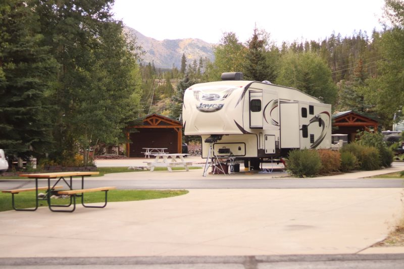 Rv Pull Thru Site 305 Tiger Run Resort Breckenridge Co