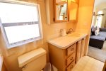 Private bathroom with walk in shower and provided towels
