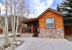 Catch those mountain rays while saying at this beautiful cabin
