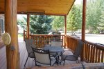 Large Patio with ample seating and perfect views