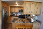 Fully furnished kitchen perfect for saving money and making family meals