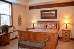 It`s time to turn in, this master suite is all about comfort