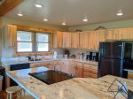 Large kitchen in Palisades Paradise for any dish you want to serve up