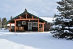 Winter time activities are a blast at the Rendezvous Lodge