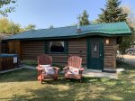 Warm up your toes in a warm cozy cabin, Wild Bill`s Cabin