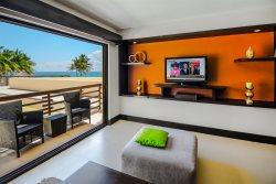 Beachfront unit in a Luxury Condo Hotel