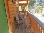Covered entry deck