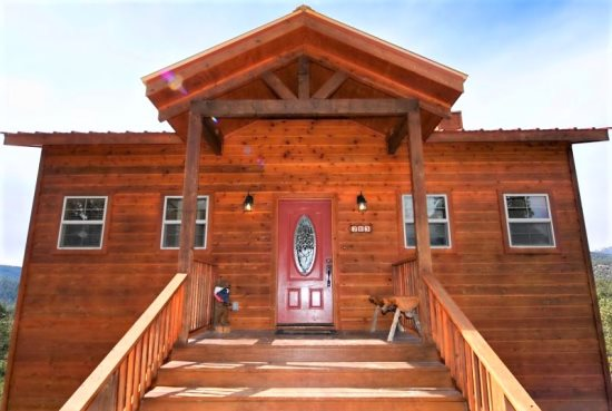 cabin new mexico cabins creekside book ruidoso picture locationphotodirectlink story of nm