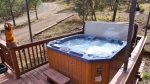 with hot tub