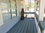 Entry covered deck