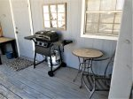 Back patio with grill