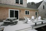 Deck for outdoor dining