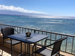 Maui Kai 203 REAL OCEANFRONT - NON STOP VIEWS ALL DAY LONG!