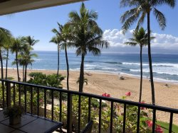 Luxury  NEW to  RENTAL Market!  Executive Direct Beach Front Kaanapali Beach  Alii Unit 346