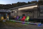Cowabunga - A luxury trailer just minutes from our private dock in the harbor and beach