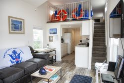 Cochito - a US Coast Guard themed tiny home in the heart of the historic Noyo harbor