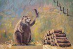 Hey you Woodchucks - stop chucking my wood