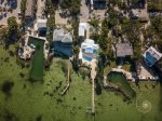 Islamorada bayfront home with pool & dockage