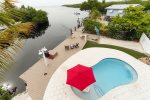 Bayfront home with private pool