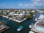 Corner lot with ample dockage