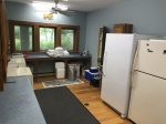 Laundry room with extra refrigerator for your use