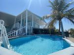 Blue Marlin 2/2 Pool home with 35' Dock Easy Access to Atlantic