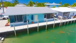 Reel Therapy 2-1bed/1bath updated half duplex w/25' dockage & Trailer Parking