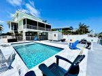 Waves of the Sea,A True Marathon Gem!! is a Ocean View Home with Dock & Cabana Club Included