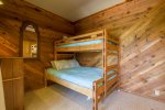 Lower Level Double and Twin Bed