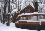 Winter at Teel Lodge is magical
