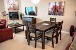 cozy dining area with seating for 6