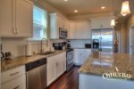 open concept fully furnished kitchen