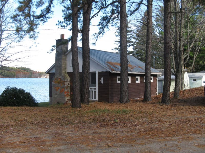 cottage rental rentals lake mears silver water lakeside the on