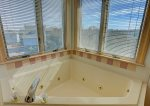 Soak your Stress Away in the Whirlpool Tub in Upper Level Master Bathroom