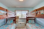 Let your Dreams Set Sail in the Middle Level Bedroom with Bunk Beds