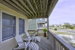 Feel the Ocean Breeze in your Hair on the Middle Level Covered Deck