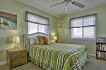 Oceanfront Queen Master Bedroom