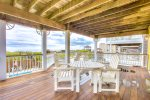 Middle Level Deck with Ocean Views