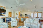 Bright and Beachy Great Room