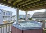 Soak your Stress Away in the Bubbly Hot Tub