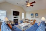 Relax in Comfort in the Coastal Living Area