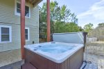 Soak your Cares Away in the Hot Tub