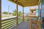 Escape the Hot Sun on the Covered Deck