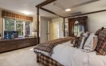 Lower level master suite with king bad and en-suite bath